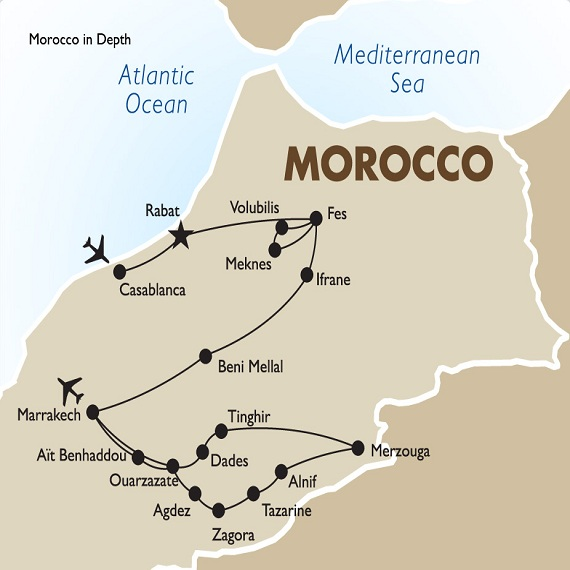 Tailor made morocco tour customized tour planning tour of morocco 4