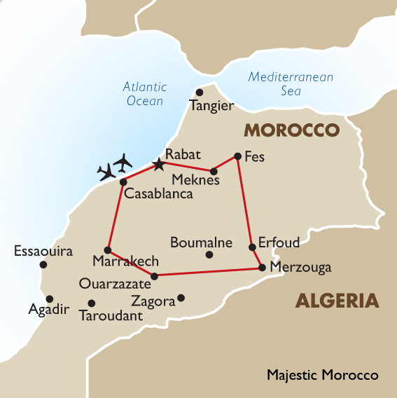 Tailor made tour of morocco tour customized tour planning tour of morocco