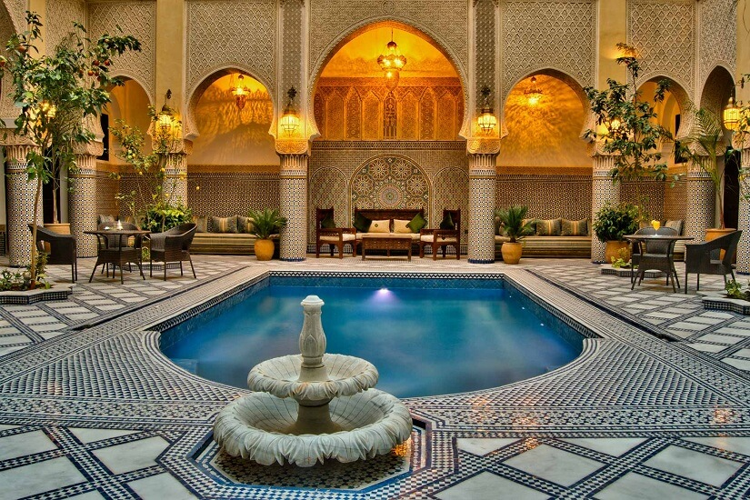 DMC in Morocco Morocco fes luxury Riad with best rates