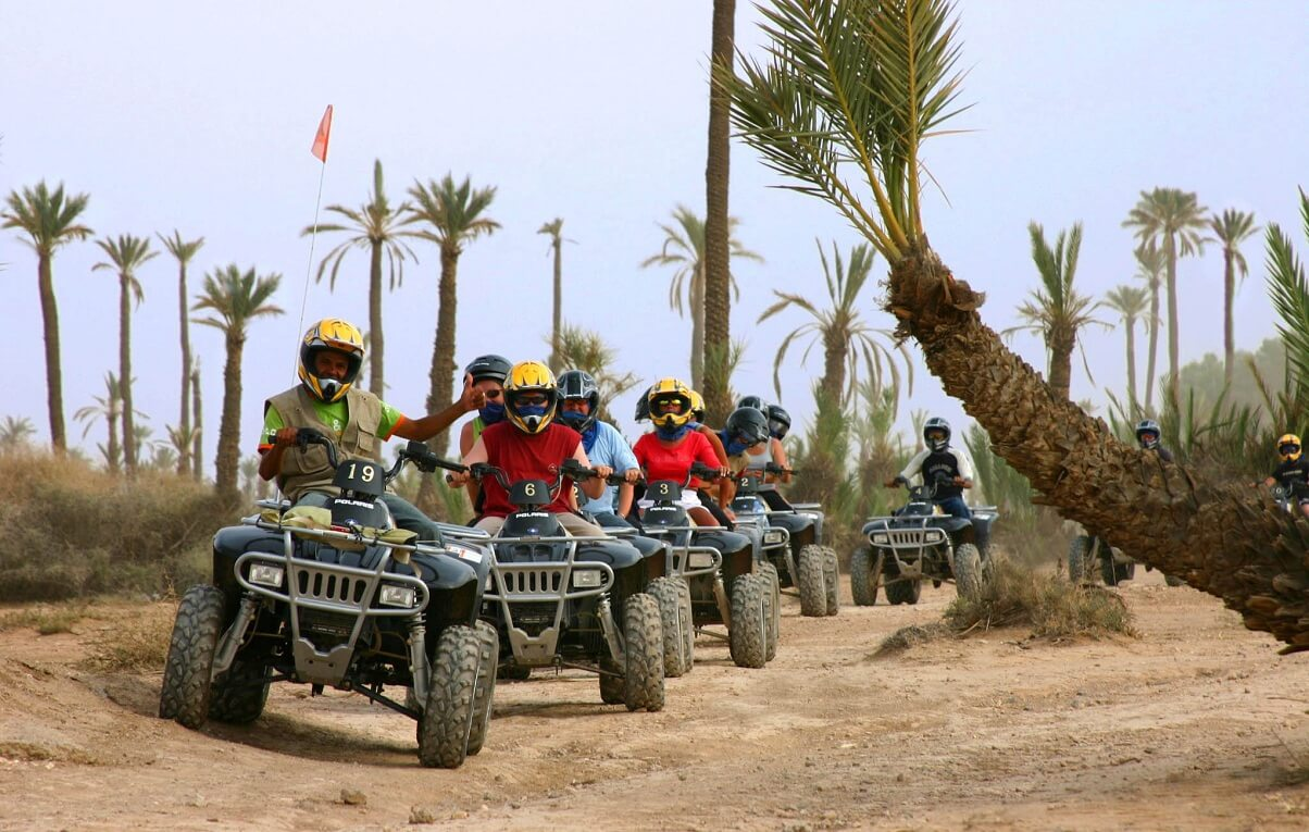 quad excursion morocco