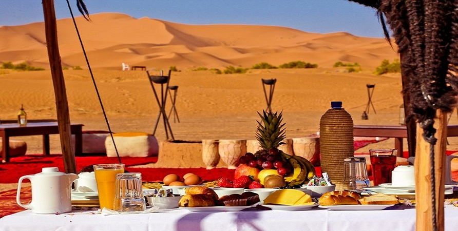 DMC in morocco desert-luxury-camp hotel