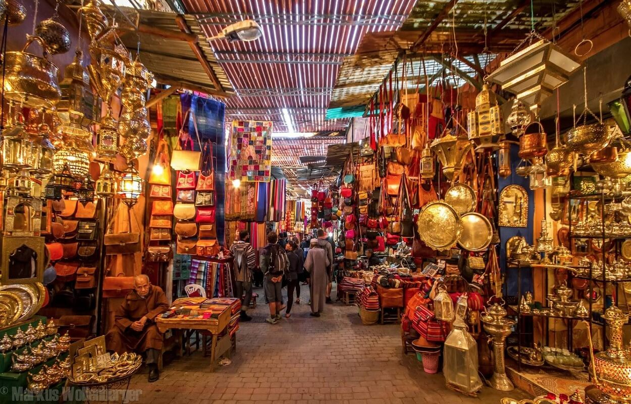 excursion discovery of the souks of medina of morocco